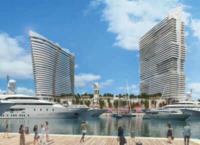 Luxury destination under development on Miami's Watson island The Alteza