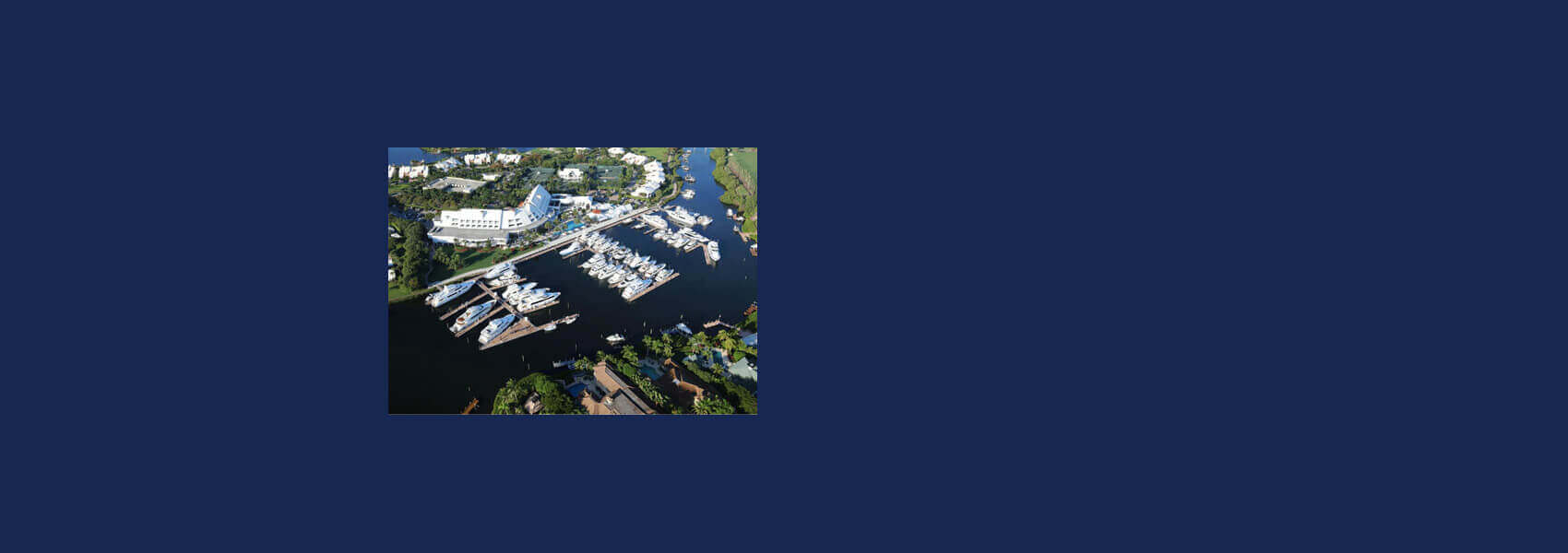 Drone photography of the new marina at Admirals Cove!